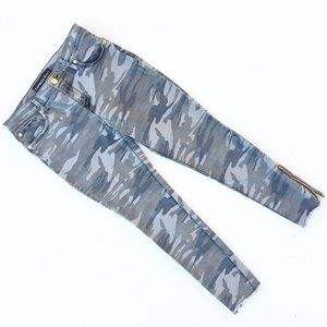 Express Jeans - Express Camouflage Skinny Ankle Legging Jeans